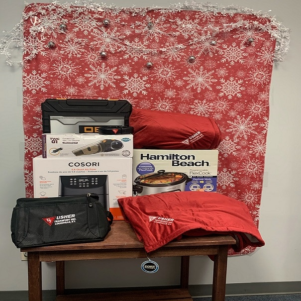 Day Two of Usher Transport Christmas Giveaways! image