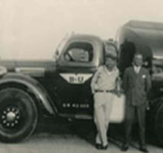 Usher Transport, Inc - Then image
