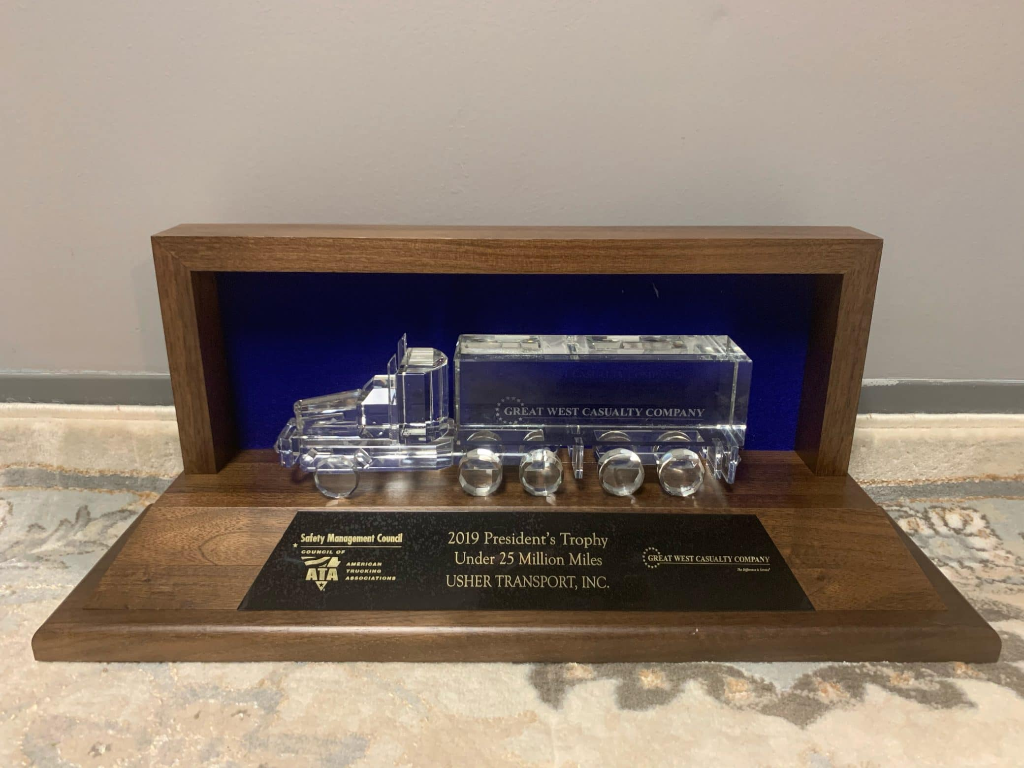 2019 President Trophy image