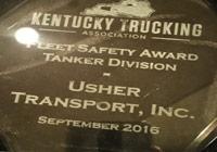 Kentucky Trucking Association's 2016 Corporate Fleet Safety Award image